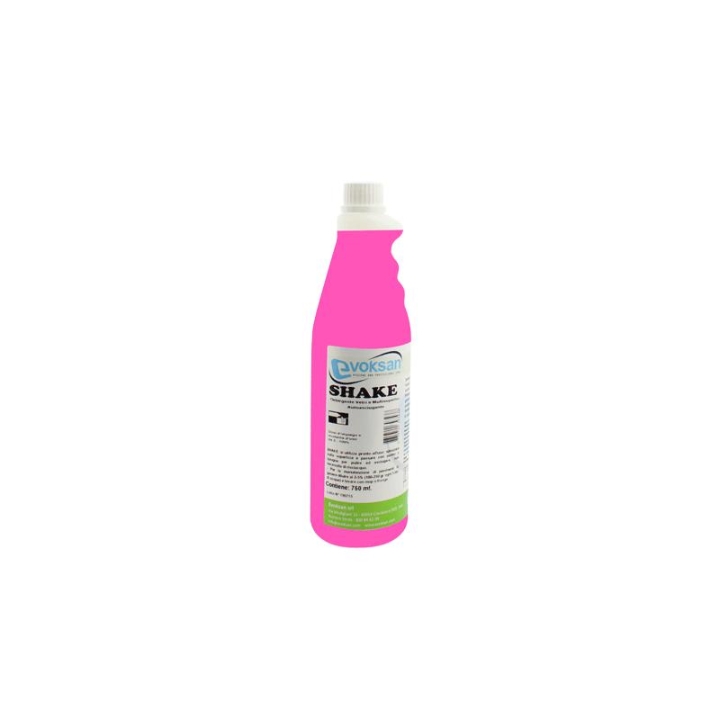 shake detergente multi superficie a base alcolica per vetri e vetrate